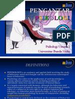 PB1MAT_01Bahan - Pengantar Psikologi Pert 1