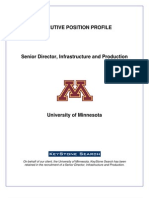 UMN - Sr. Dir OIT - Position Profile