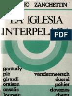 Zanchettin, Claudio - La Iglesia Interpelada