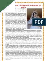 La Leyenda de La Virgen de Guadalupe de Nasca