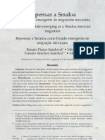 Sinaloa potencial migración