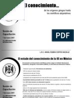 El Estado Delco No Cimiento en Mexico