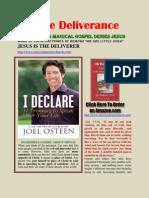 Joel Osteen's Magic Gospel Denies Jesus