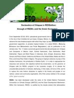 Chiapas in REDDelion DECLARATION.english Final
