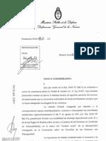 Res DGN 1102-12 - Facultades Unidad de Letrados Art 22_Ley 26657