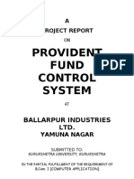 Provident Fund Control Sys(Bilt)