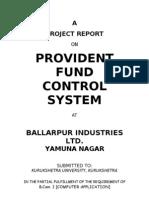 Provident Fund Control Sys(Bilt)
