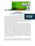 Declaracion REDDeldia