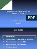 Proyectos Para Prestacion Servicios SHCP