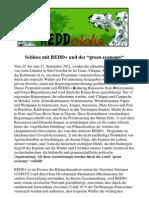 Übersetzung REDD Declaration