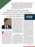 Odluka Ustavnog Suda BiH Povodom Statusa Drzavne Imovine