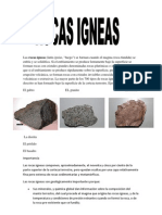Las rocas ígneas