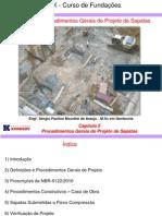 Capitulo 5 - Procedimentos Gerais de Projeto de Sapatas
