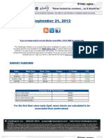 ValuEngine Weekly Newsletter September 21, 2012