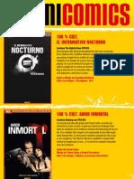 Novedades Panini - Noviembre 2012