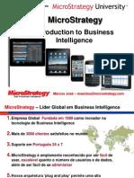 Microstrategy Introdução a BI