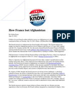 How France Lost Afghanistan - Foust