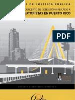 Evolución del Concepto de Concesión de Puentes y Autopistas en Puerto Rico