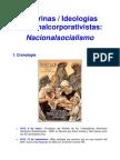 Doctrinas e Ideologias Nacionalcorporativistas