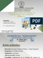 Ensayo Sistema de Compra - Venta Comercial Adrianita