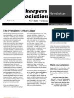 BANV Newsletter Sept-oct '12