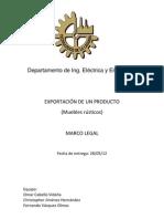 Marco Legal Trabajo Final
