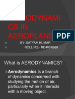 Basics in Aerodynamics Used in Aeroplanes (2)