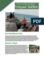 Jackson Newsletter 2012