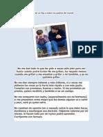 Carta de Un Hijo a Todos Los Padres Del Mundo