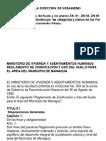 Reglamento de Zonificacion y Uso Del Suelo-1982