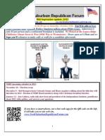 NSRF Mid-September 2012 Newsletter
