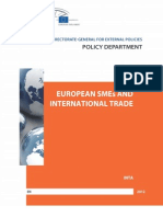 European SMEs and International Trade