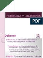 Fracturas y Luaciones