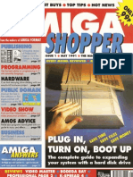 Amiga Shopper Magazine Issue 1 May 91
