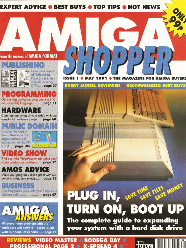 5caf98069 Amiga Shopper Magazine Issue 1 May 91