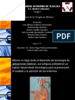 Historia de La Cirugia en Mexico