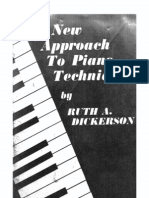 A New Approach to Piano Technique (by Ruth a. Dickerson) (1962)