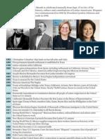 Hispanic Heritage Timeline 2012