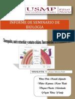 BIOLOGIA - SEMINARIO 6 =)