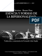 Monografía 1 Formas bipersonalidad