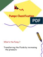 Pumps Classification