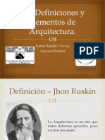 1.2- Definiciones y Elementos de La Arquitectura. (2)