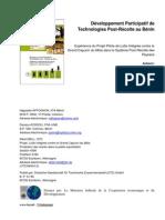 Développement participatif de Technologies Post-Récolte au Bénin