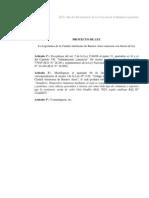 Proyecto de Ley -  Modificacion Ley 2148