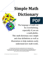asimplemathdictionary