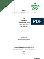 Instalacion de Dhcp en Windows Server 2008
