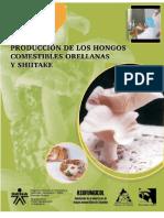 Cartilla, Cultivo de Hongos Comestibles