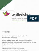 Wallwisher Pitchdeck - OAF