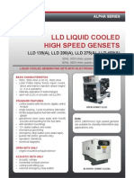 10582 Lld Alpha High Speed Gensets Tds