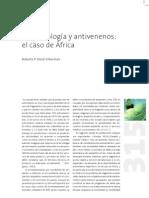 biotecnología y antivenenos